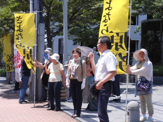 九電への抗議行動
