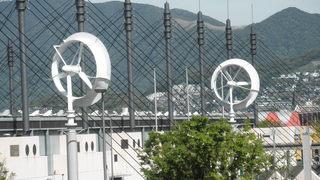 風レンズ風車