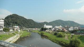 紫川の風景