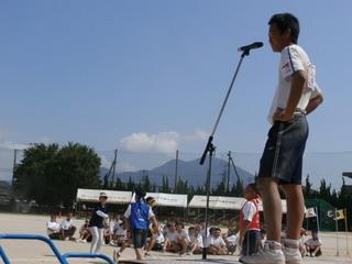 中学校の体育大会