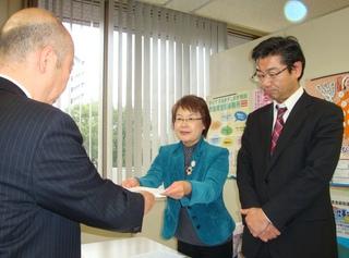 福岡県に工場閉鎖撤回を東芝に働きかけるよう要請